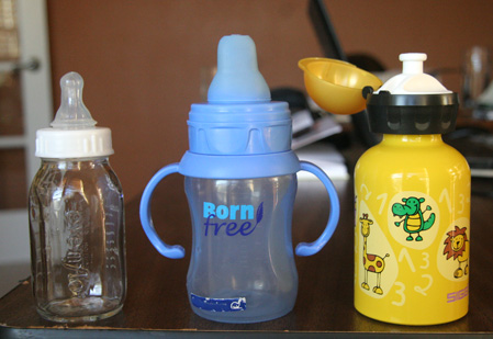 Safer Alternatives to Plastic Bottles and Sippy Cups