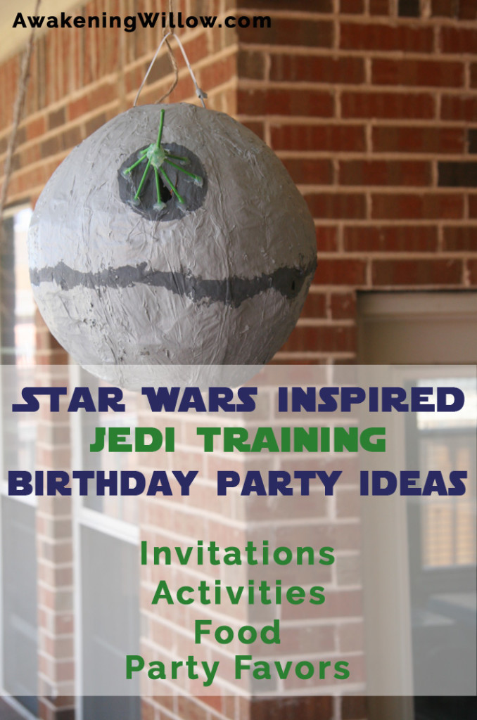 Star wars inspired jedi training birthday party invitations introheader filmwisefo